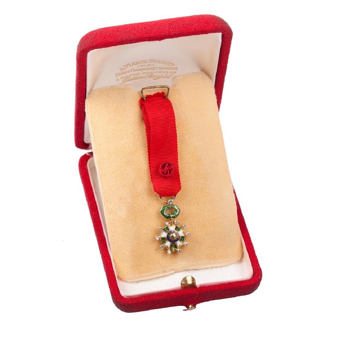 Legion D'Honneur II grade order miniature