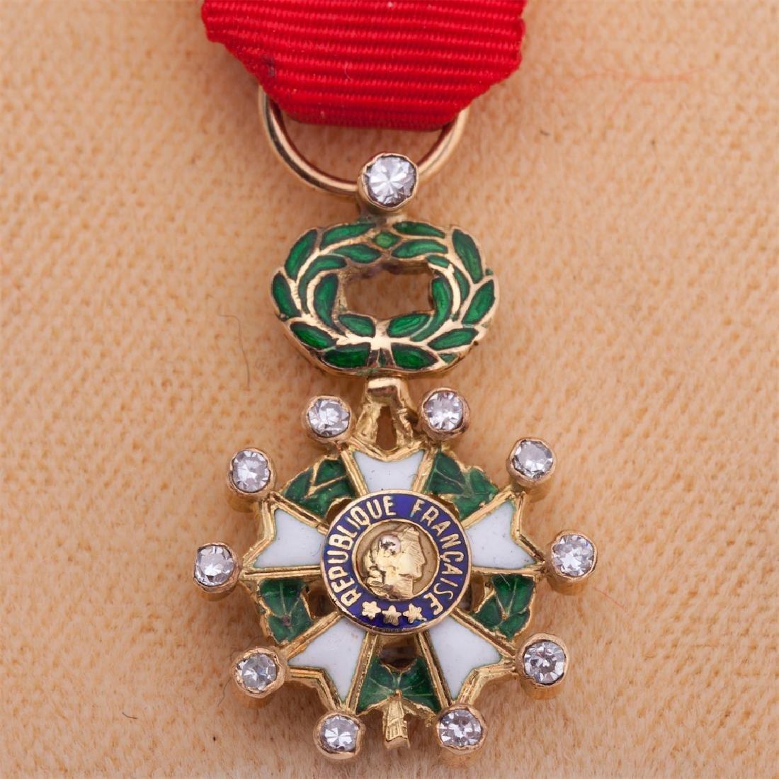Legion D'Honneur II grade order miniature - 2
