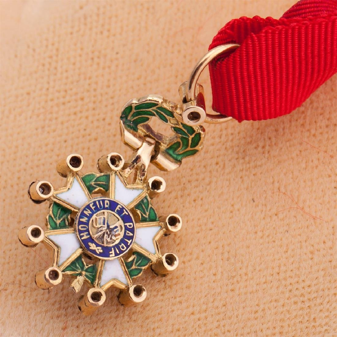 Legion D'Honneur II grade order miniature - 3
