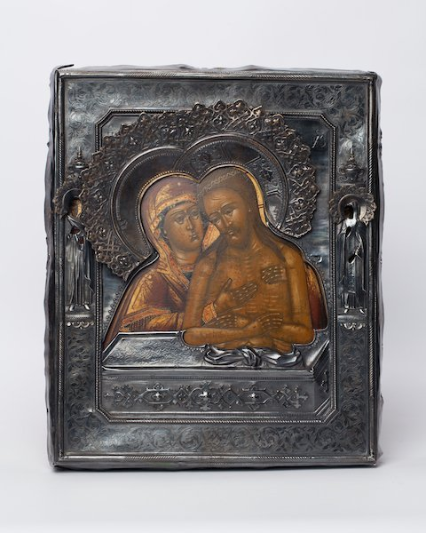 """Icon """"Don't cry for me Mother"""" 1887 Year."""