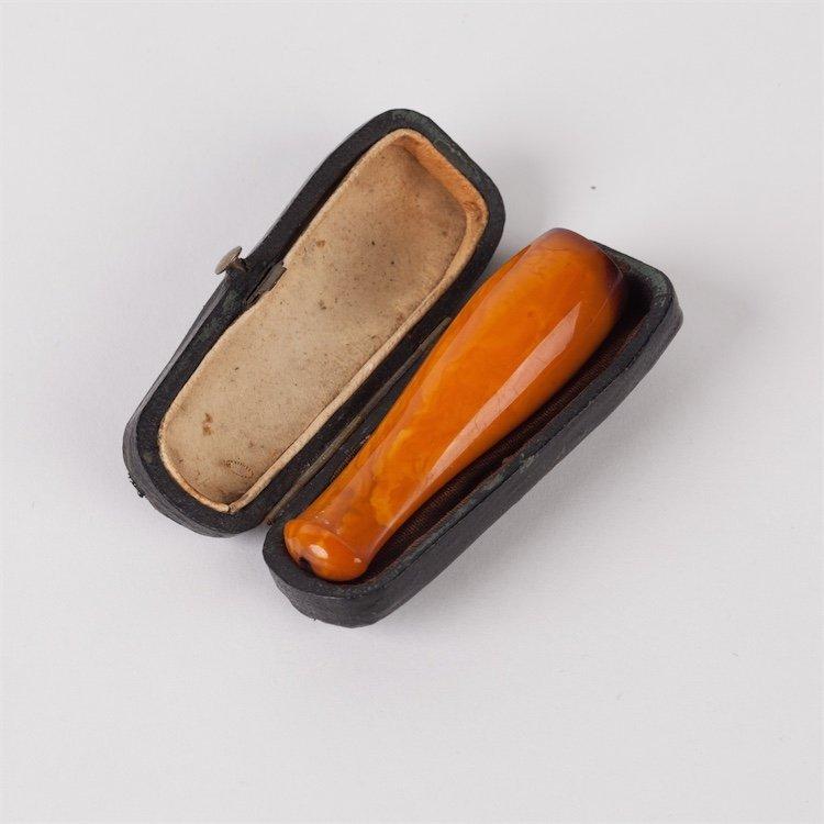 Amber mouthpiece.
