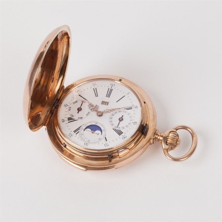 Gold Le Coultre Grand Complication Minute Repeater