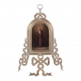 Russian Icon Of Saint Serafim Of Sarov. Grachev