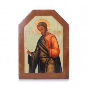Russian Icon Of St. Apostle Iakov.