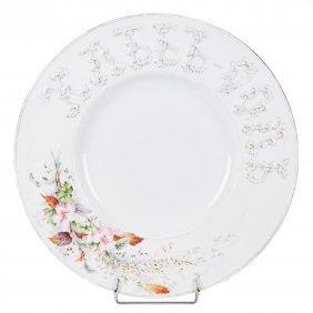 "Russian Massive Decorative Plate ""bread-salt""."