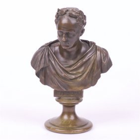 "Bronze Bust ""the Emperor Alexander 1""."