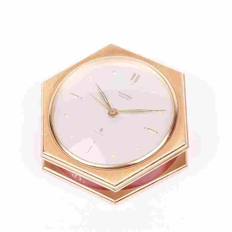 """Desk clock """"Hermes""""."""