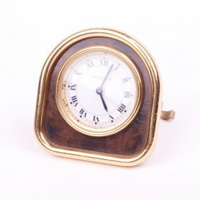 "Desk Clock ""cartier""."