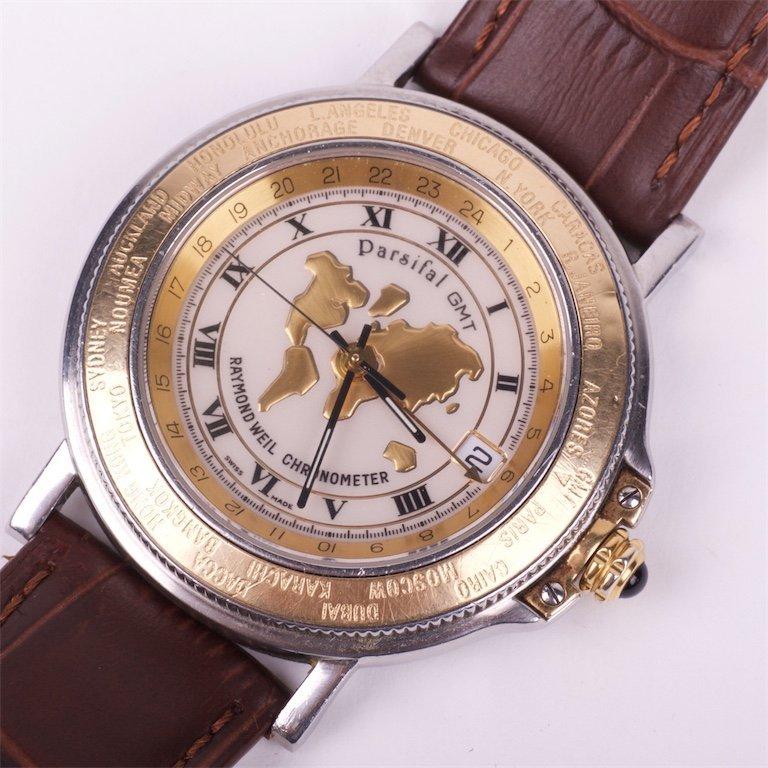 Raymond Weil Parsifal GMT Date Chronometer 18K/SS autom