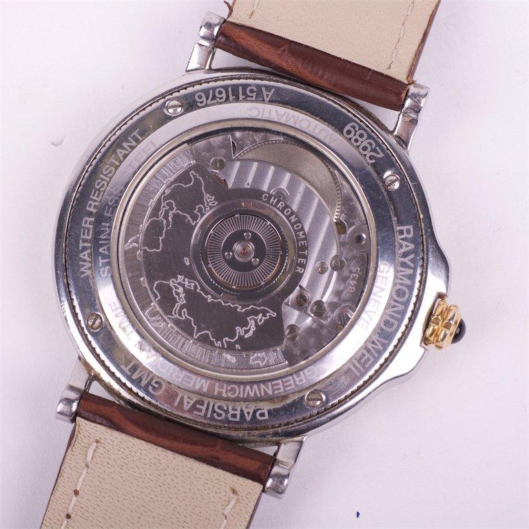 Raymond Weil Parsifal GMT Date Chronometer 18K/SS autom - 4