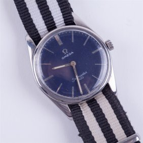 "Stainless Steel ""omega Seamaster 600 Wristwatch""."