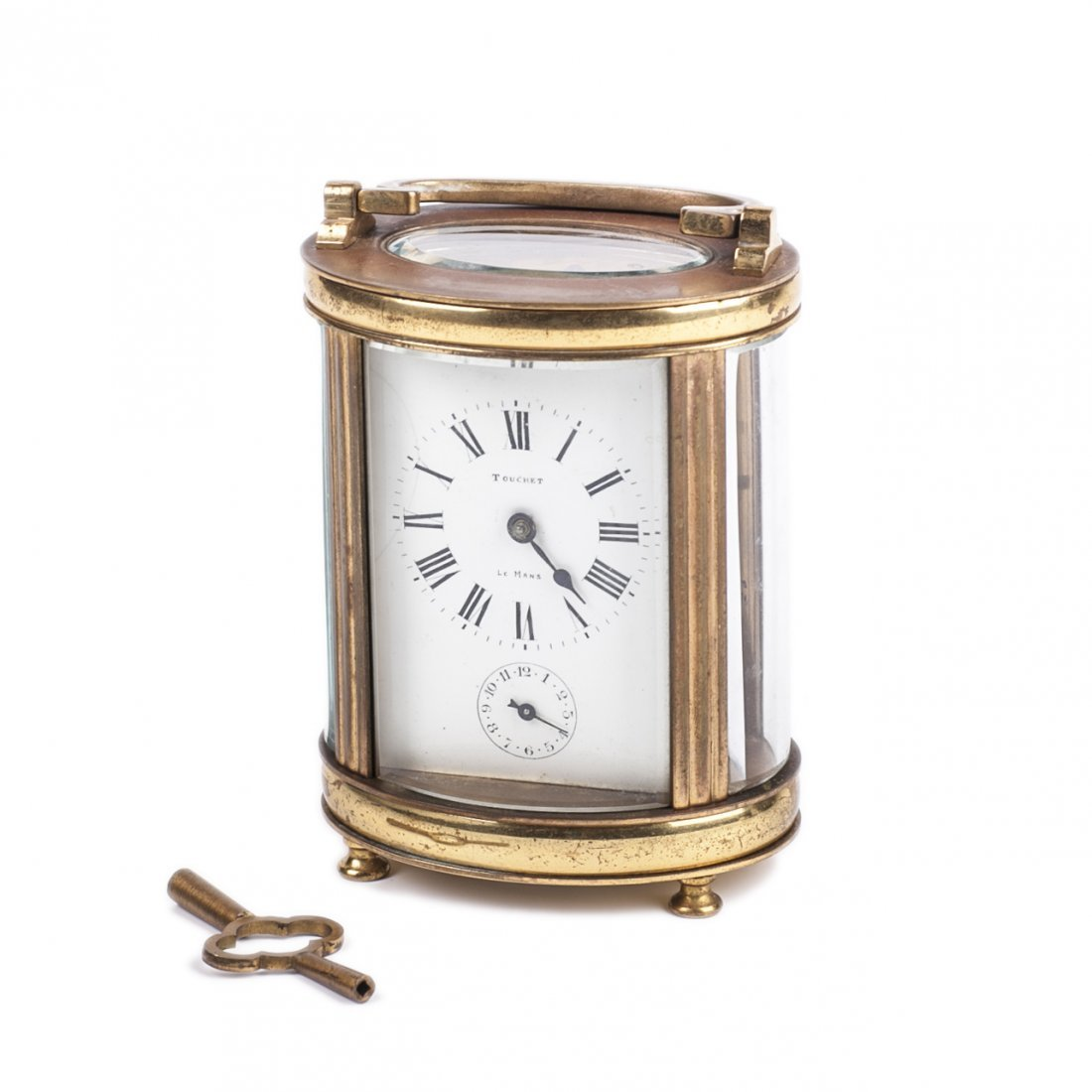 """French carriage clock """"Touchet Le Mans"""""""
