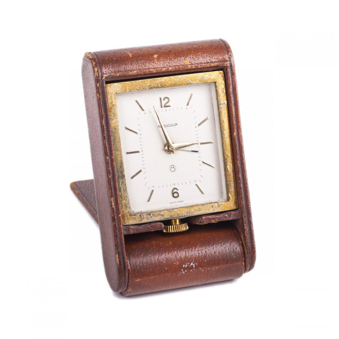 """Desk mechanical clock """"Jaeger Le Coultre"""""""