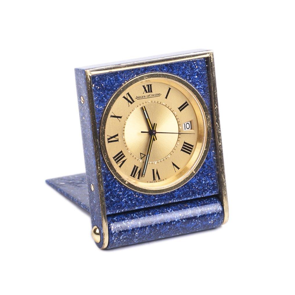 """Desk- travel clock """"Jaeger Le Coultre"""""""