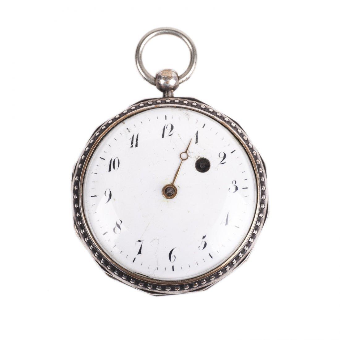 18th century English pocket watch