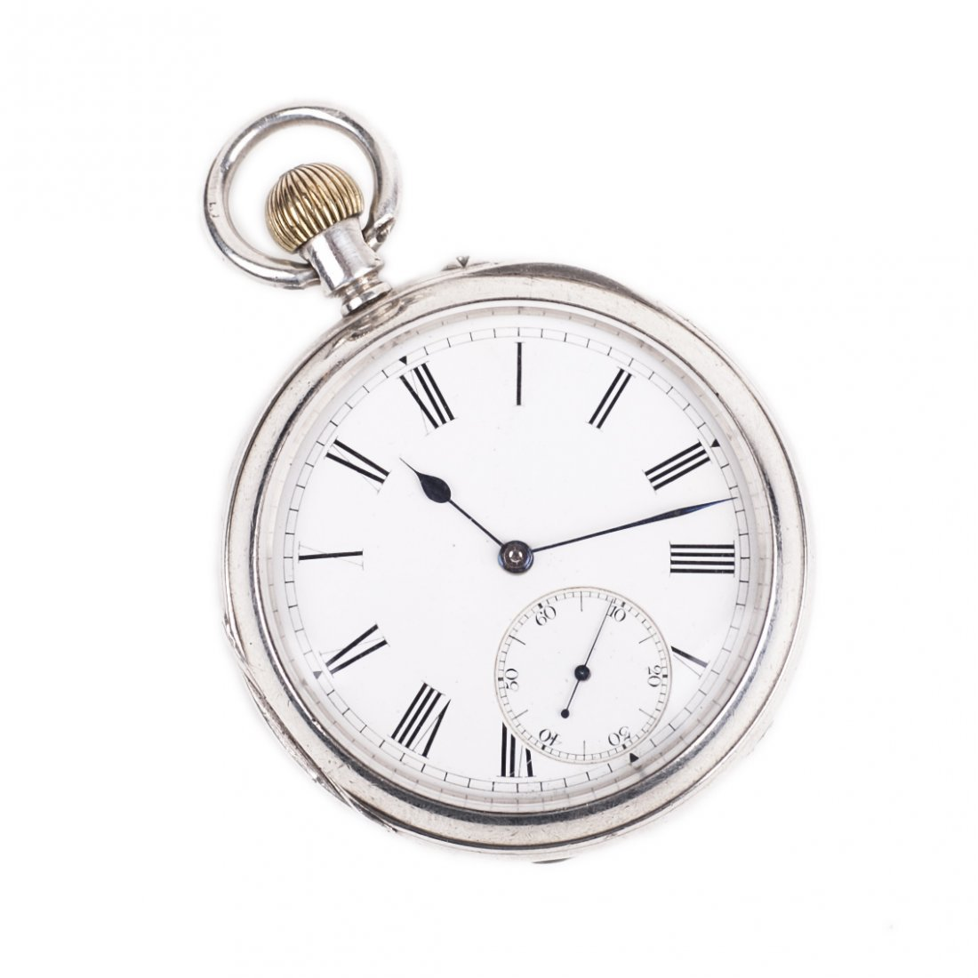 "Silver pocket watch ""Manchester"""