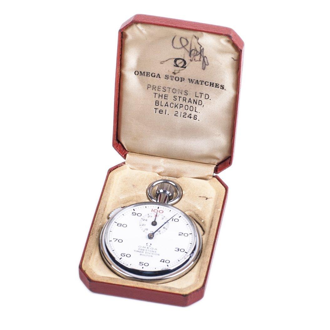 Omega stopwatch in original box