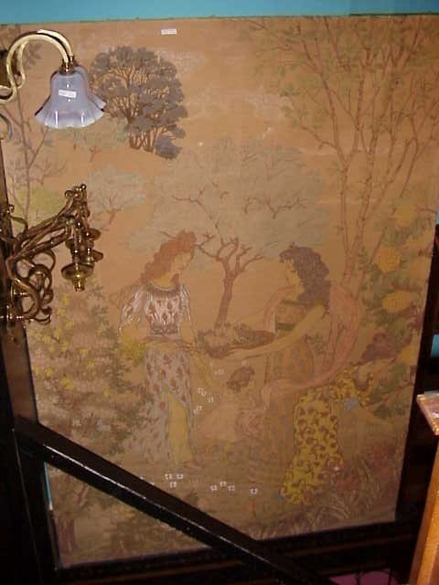 17: A wonderful woven tapestry by Eugene Grasset
