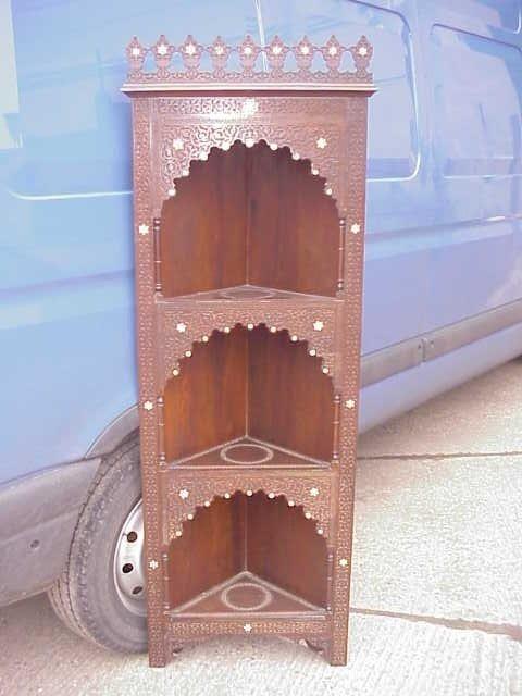 24: Moorish corner cabinet by Liberty & Co