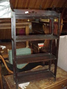 4033: Oak Arts & Crafts bookcase