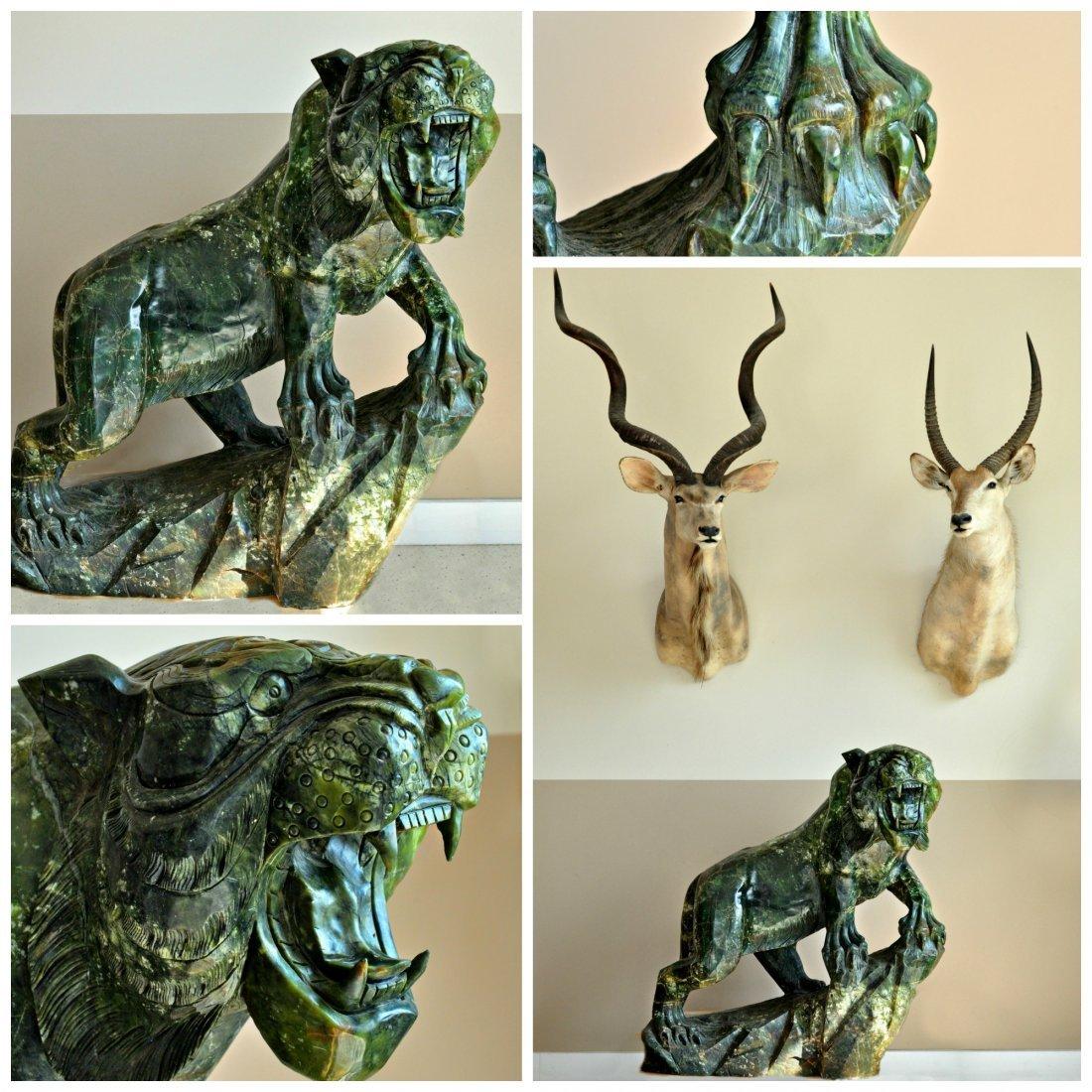 Lion Stone Sculpture