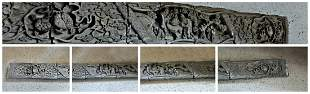 Complete brick frieze from Anmui, China