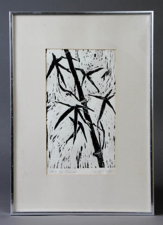 Lucy Nank Lithograph on Paper
