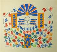 """Apollon"" lithograph by Matisse."
