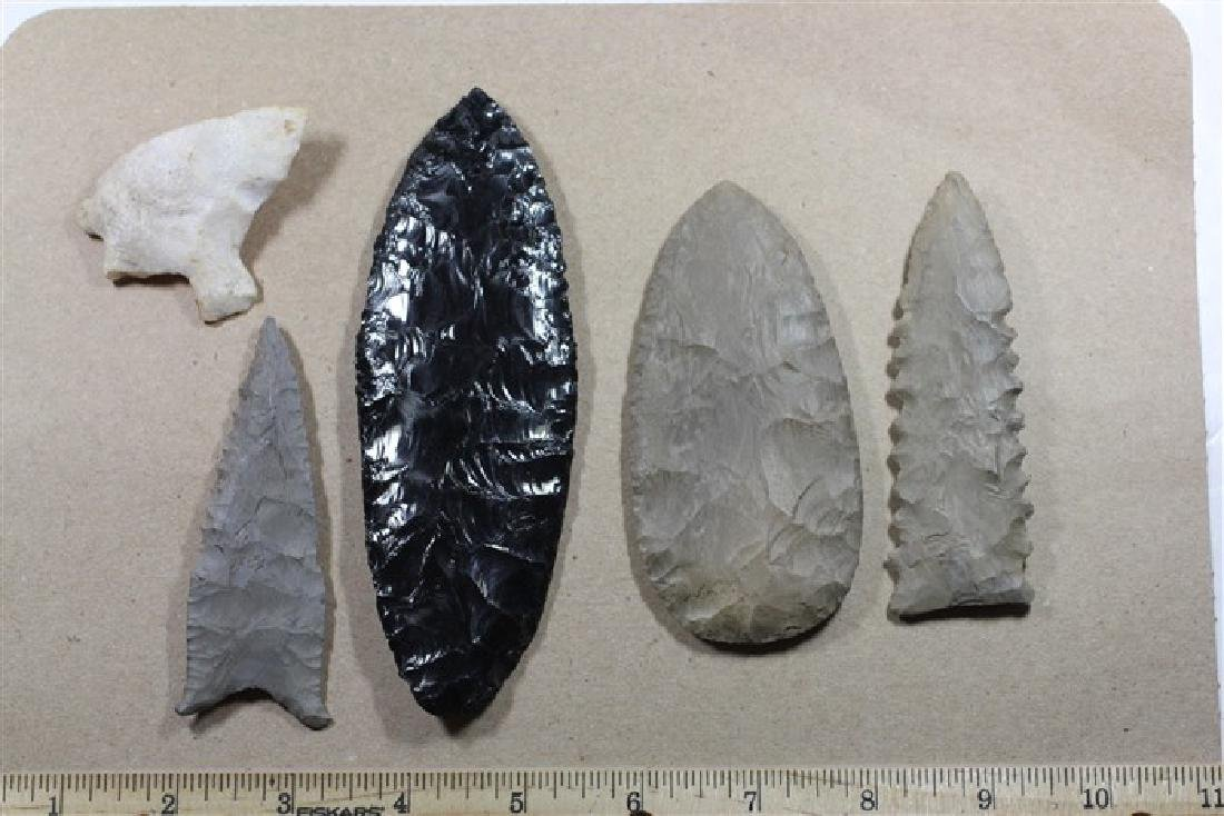 5 Miscellaneous Artifacts, Arkansas, Oklahoma, & Texas