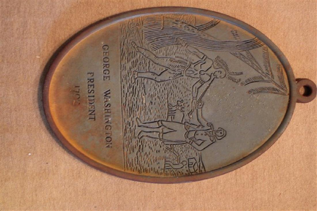 Medal Marked George Washington (contemporary, repro?)