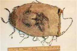 Beaded Ceremonial Pouch, Circa 1800's-See Description