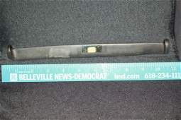 "`10 3/4"" L Amulet, Ashland Co., OH ex: B W Stevens"