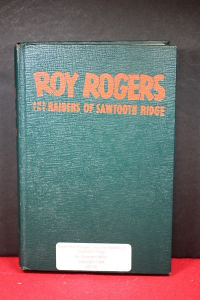 Book-Roy Rodgers & The Raiders of Sawtooth Ridge, Copyr