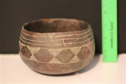 "5 1/2""H x 3 1/4'W Hempstead Engraved Bowl, Arkansas"