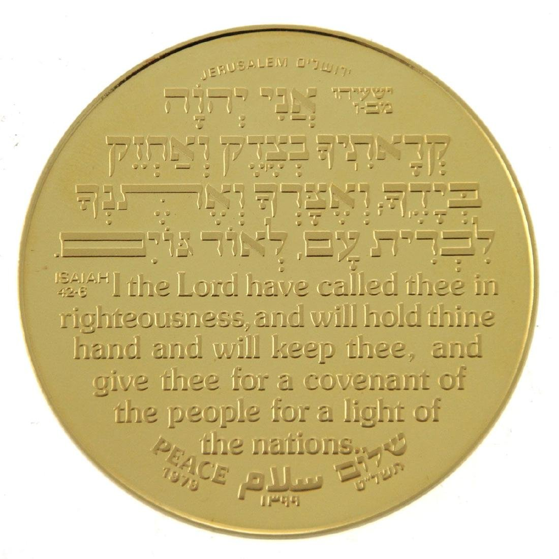Marc Chagall 22k Gold Medal, Korat Gag, 1978. - 2