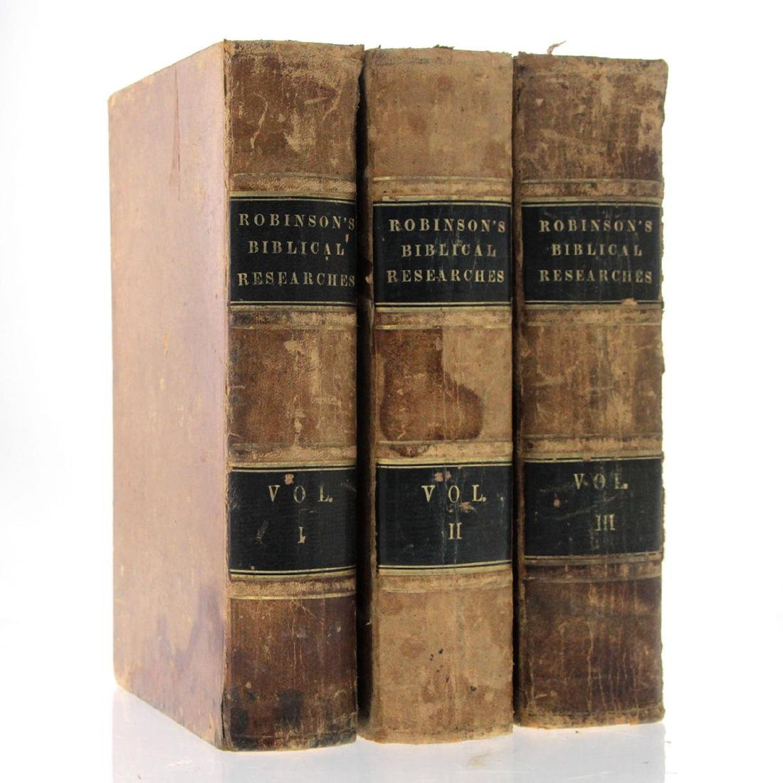 Biblical Researches in Palestine, Edward Robinson,
