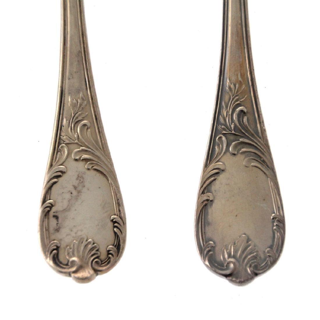 Christofle 65pcs Silver Plated Flatware Cutlery Set, - 3