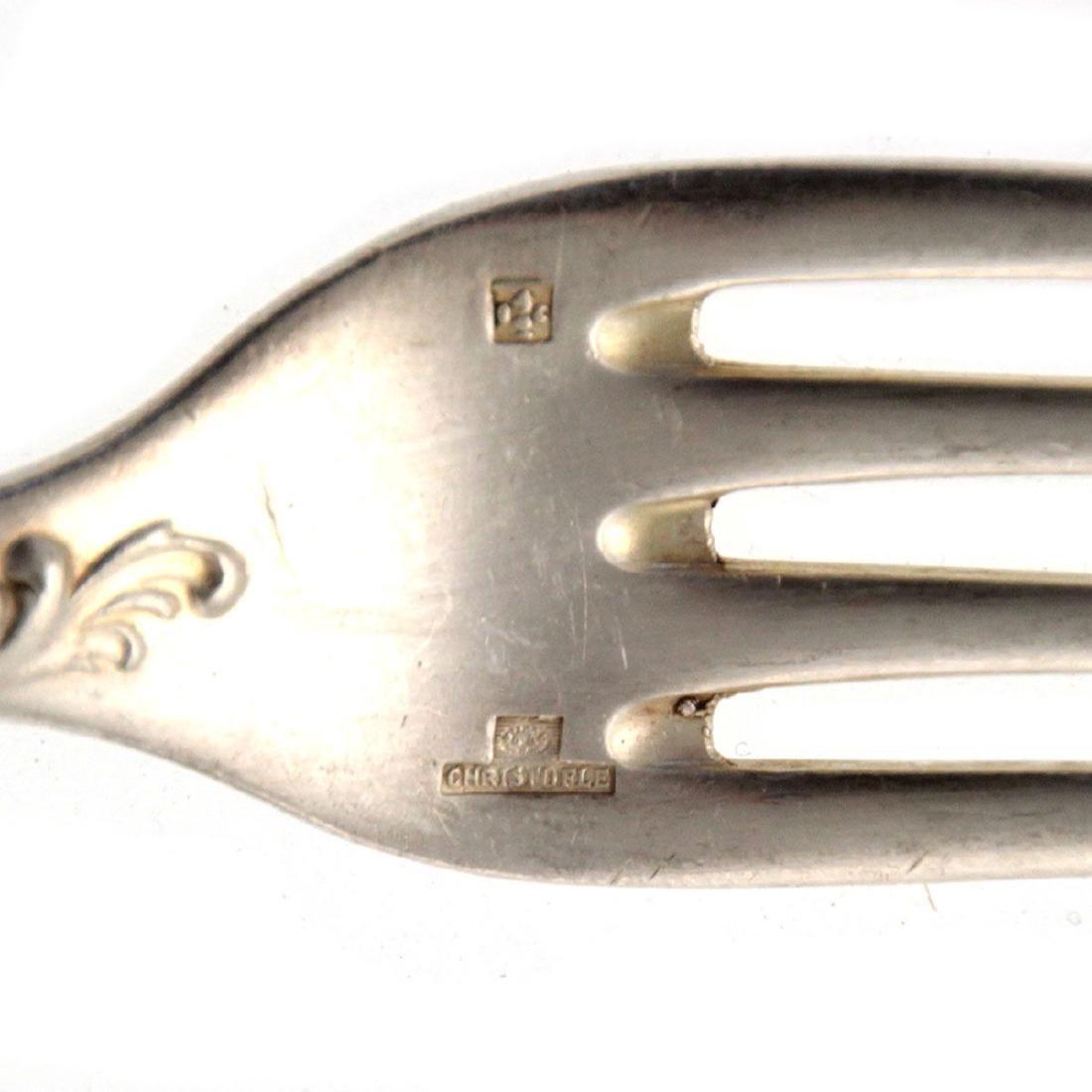 Christofle 65pcs Silver Plated Flatware Cutlery Set, - 8