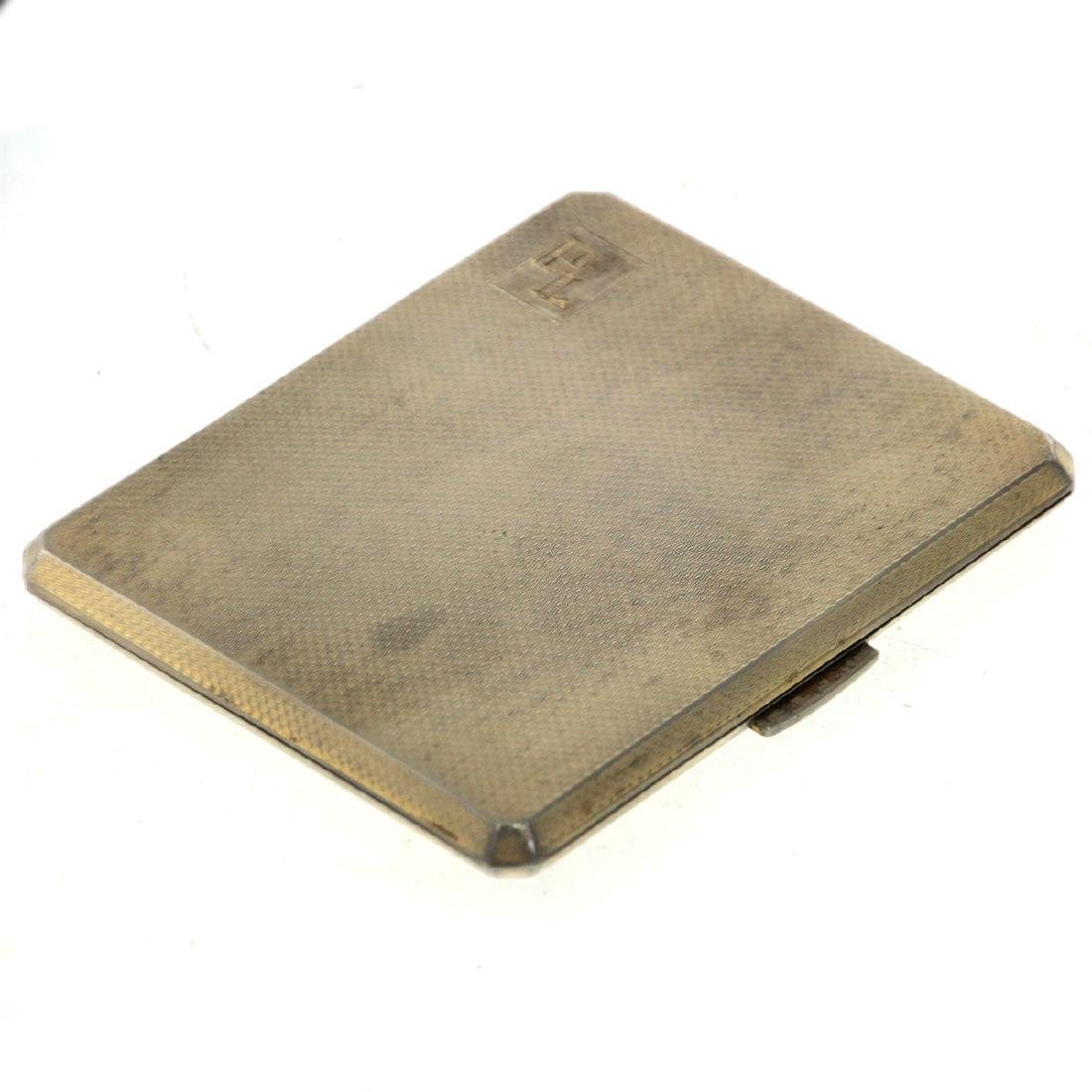 Mappin & Webb Sterling Silver Cigarette Case 1920