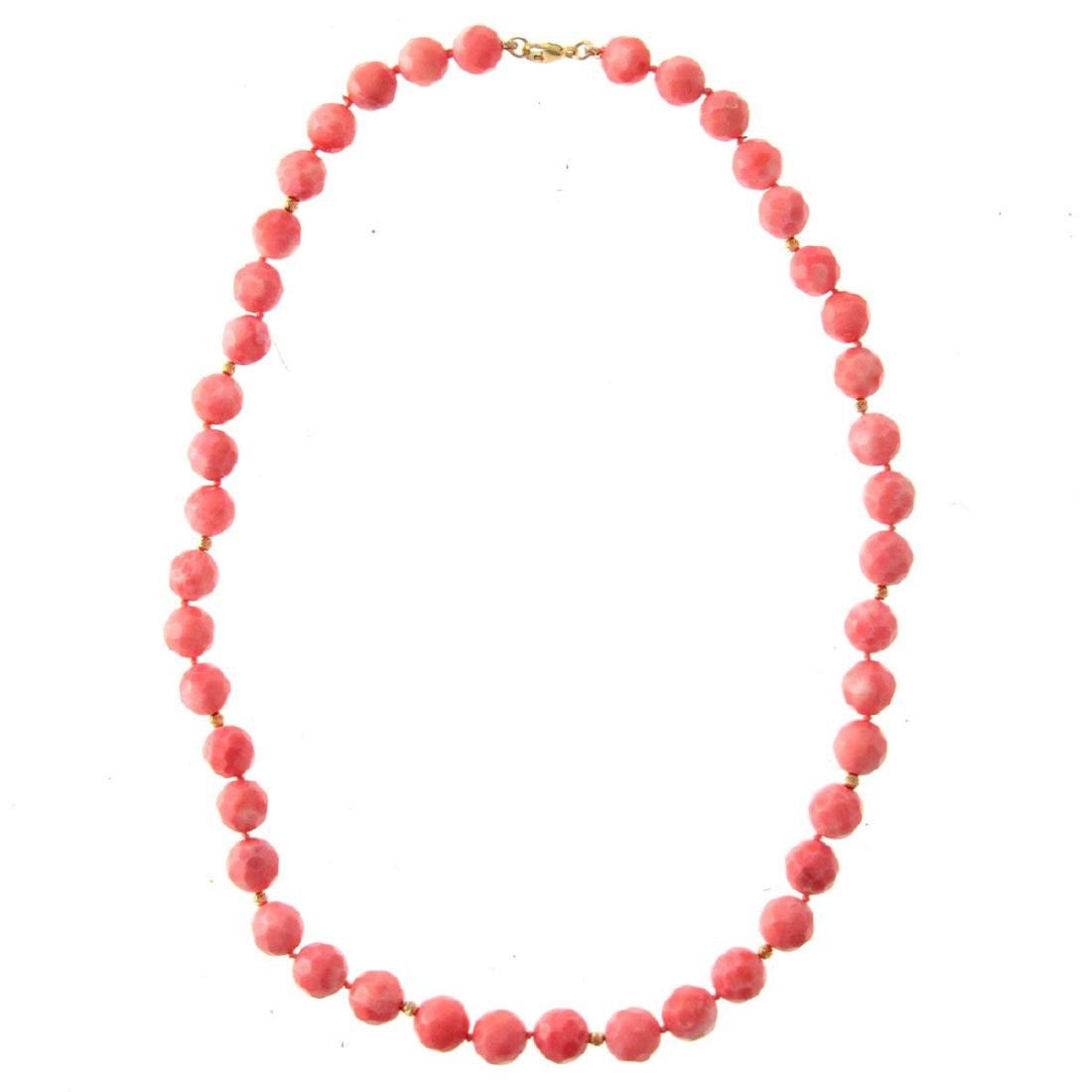 Coral Necklace.