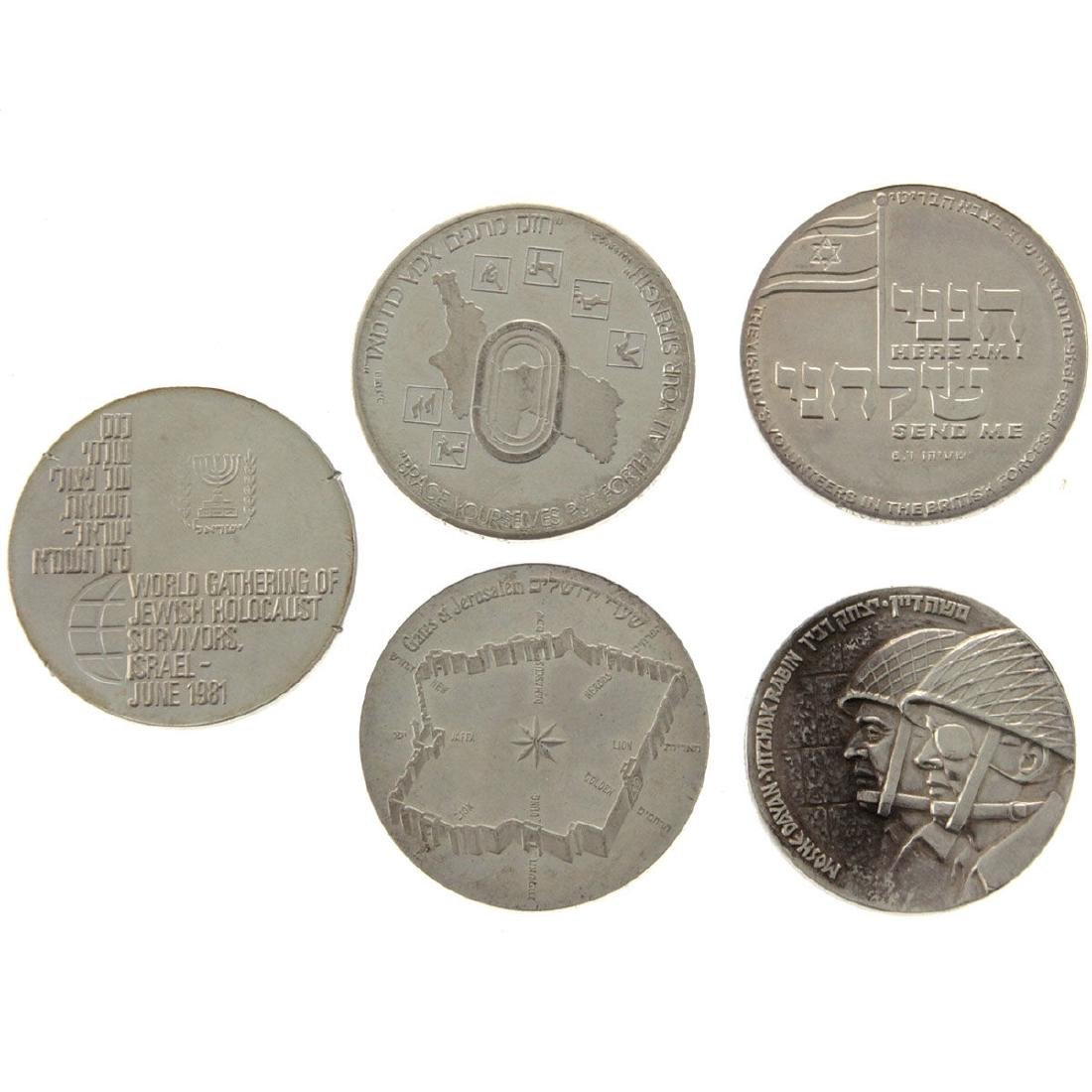 Five Israel Silver Medals.