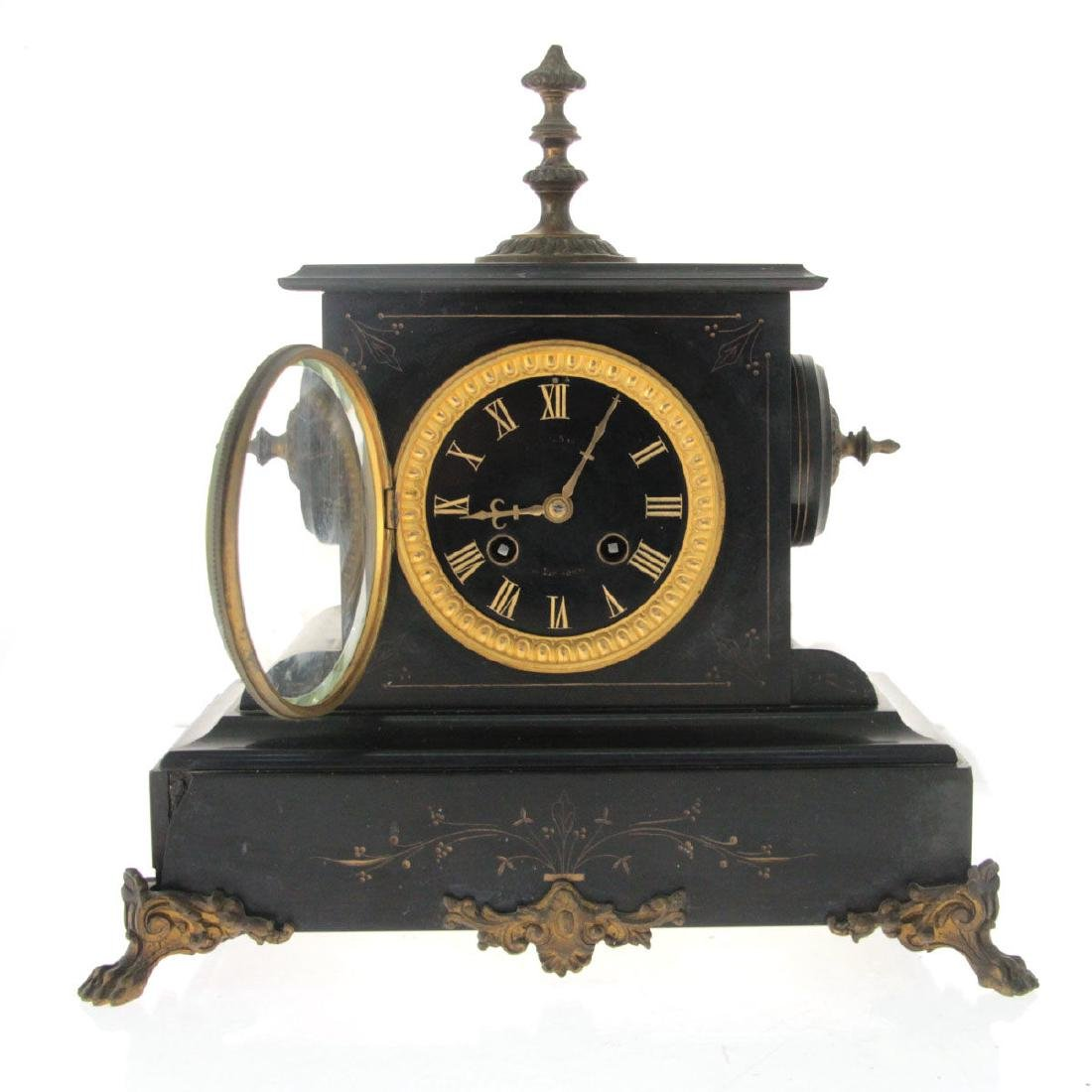 Mantel Clock, France and England, Circa 1880. - 3