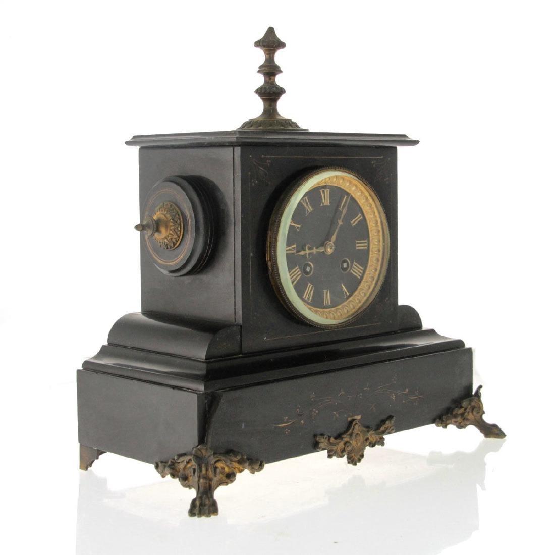 Mantel Clock, France and England, Circa 1880. - 4