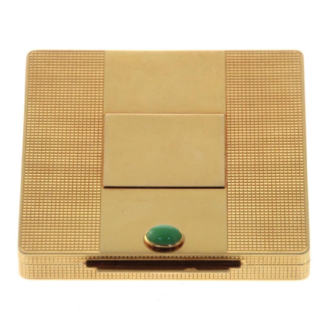 Cartier 18k Gold Powder Case Compact.