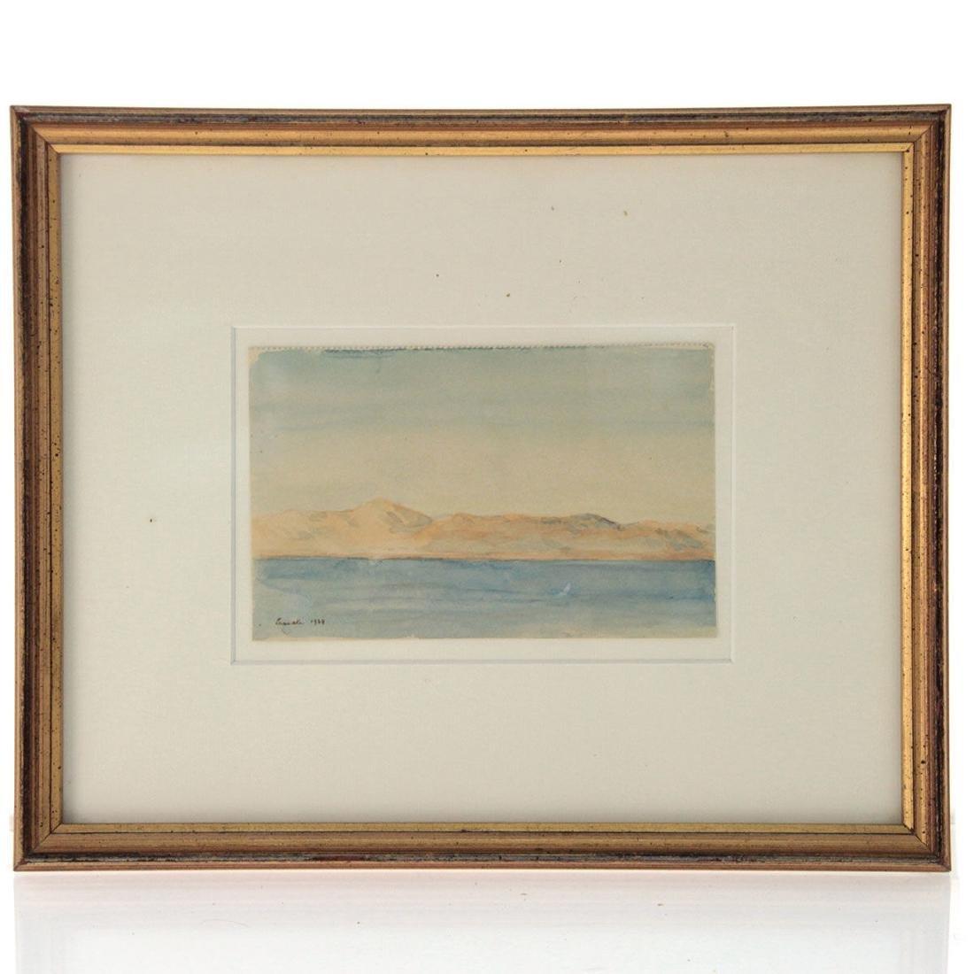 Hermann Struck - Larnaka, Watercolor on Paper, 1934. - 2