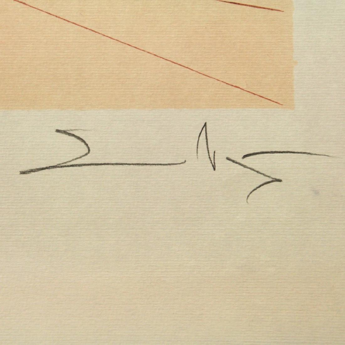 Salvador Dali - Don Quichotte (Quixote), Signed - 3