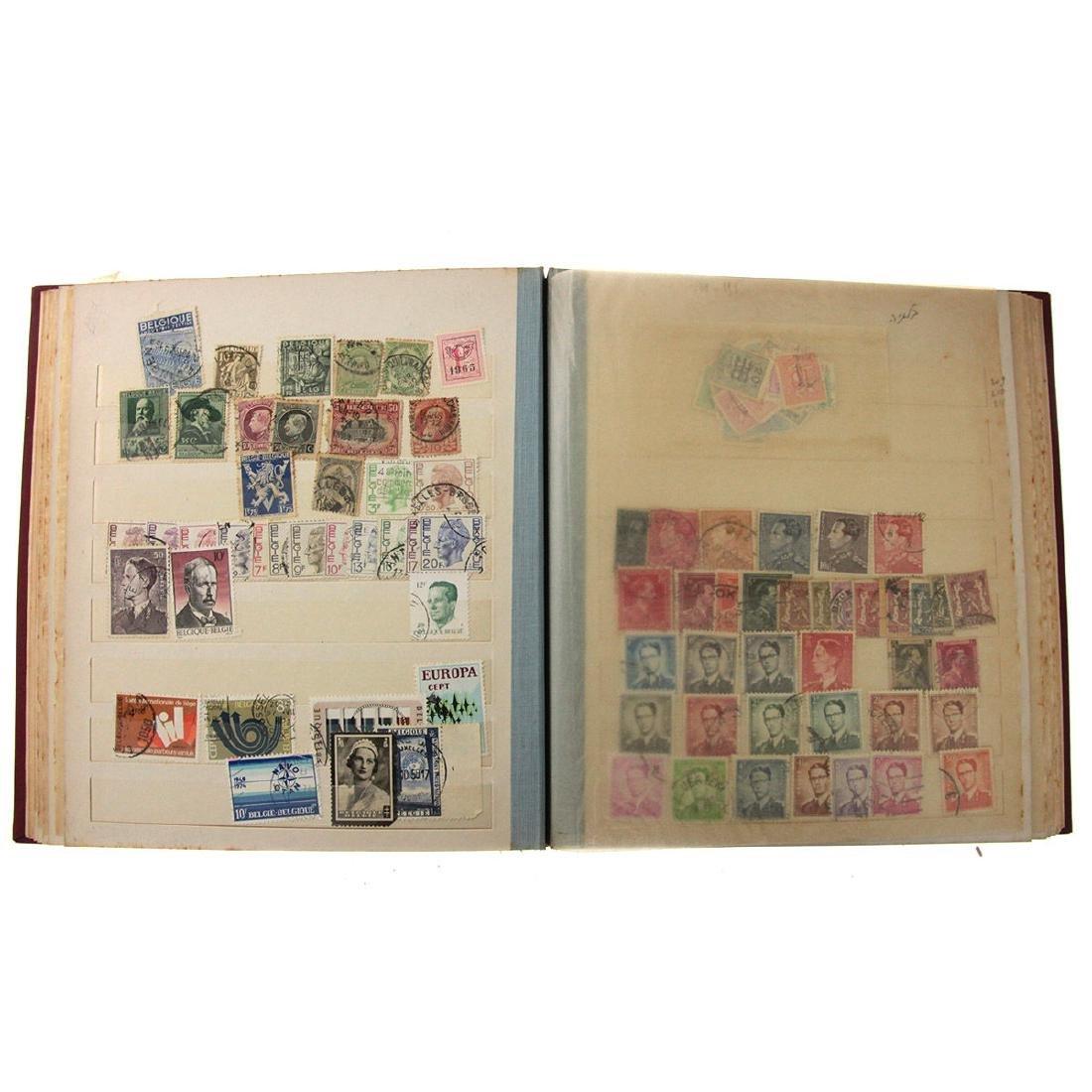 Nine Stamp Albums. - 3