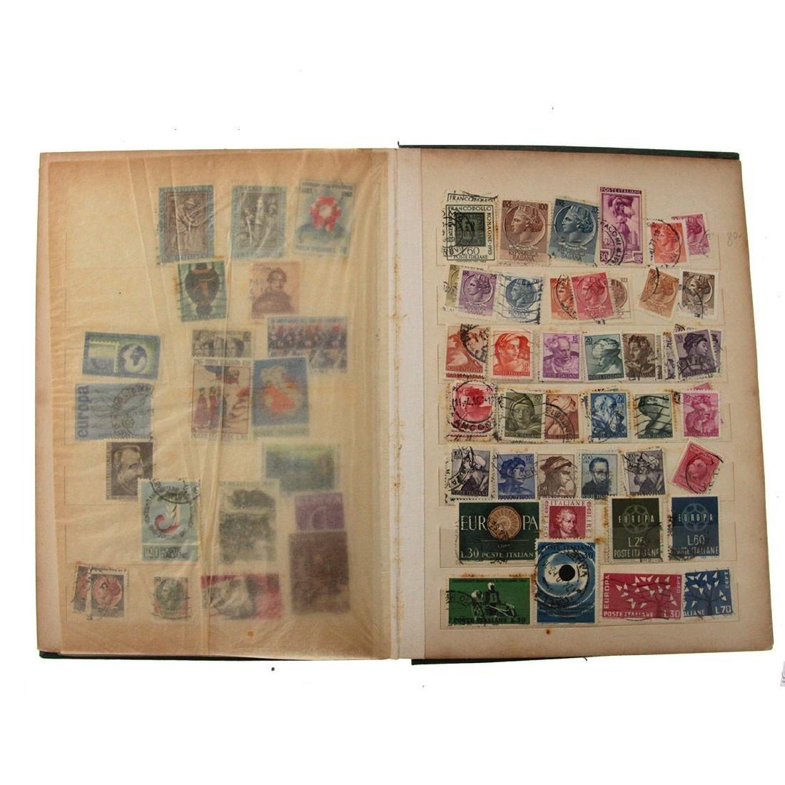 Nine Stamp Albums. - 4