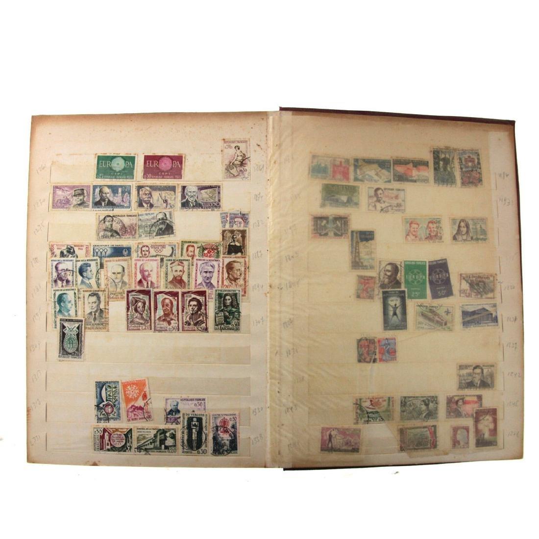 Nine Stamp Albums. - 5