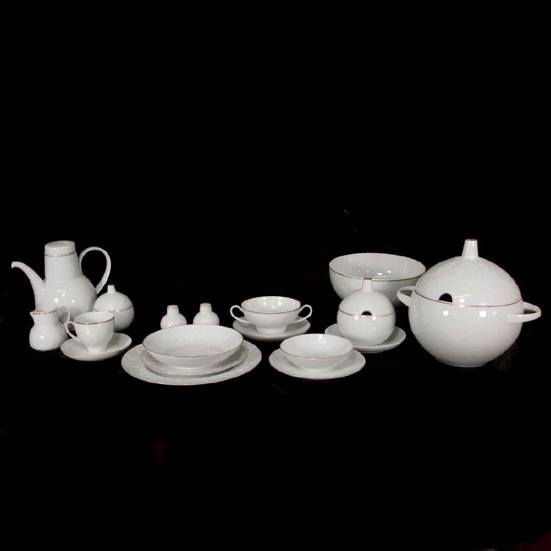 Rosenthal Porcelain - Bjorn Wiinblad - Lotus 79pcs